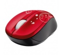 TRUST vivy wireless mini mouse Red Swirls