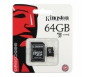 Micro SDHC 64GB CLASS10 SDCX1064GB Kingston